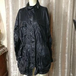COACH Nylon Oversized Raincoat/ FINAL SALE